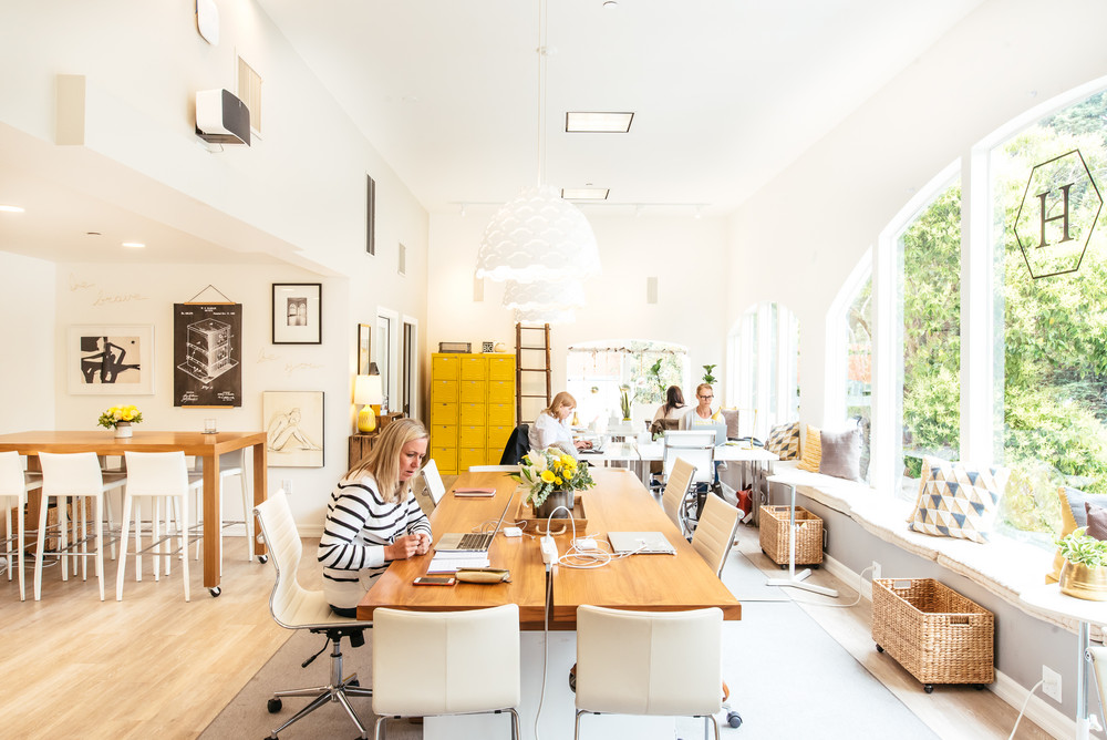 coworking spaces women