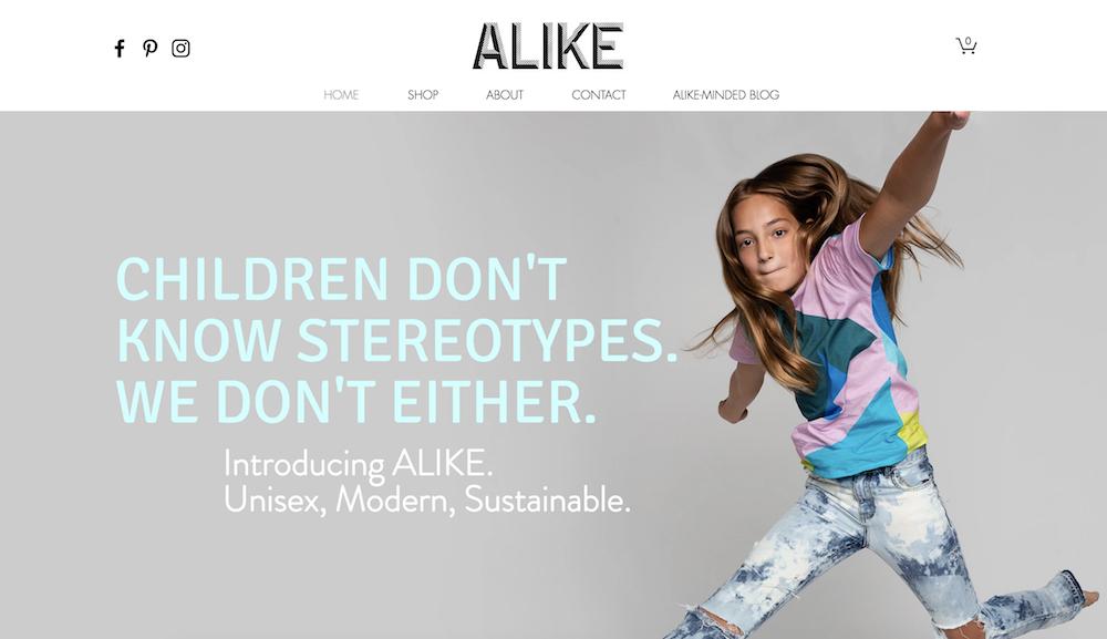 alike kids clothes